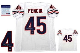 Gary Fencik Autographed SIGNED Jersey - PSA/DNA Authentic - White - $108.89