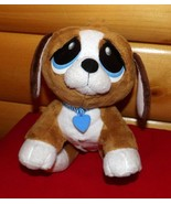 "Rescue Pets Brown White Black Beagle Healthy Pup Plush 9"" Sound & Light-... - $8.89"