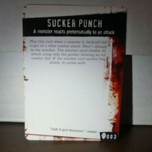 Sucker Punch 003 Plot Twist Horrorclix - $0.99