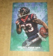 2013 TOPPS INCEPTION GREEN (THICK CARD) ARIAN FOSTER #69 027/199 - $0.99