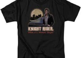 Knight Rider Retro 80's TV series Michael Knight graphic t-shirt NBC102 image 3