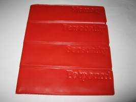 Vintage The Newlywed Game Board Game Piece: Red Card Holder vinyl - $3.00