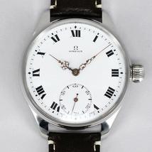 Omega antique back skeleton manual winding watch vintage men's 1914 watch - $849.32