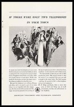 Candlestick Telephone AT&T Center of Attention 1932 Print  Ad - $10.99