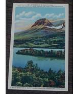 Vintage Color Tone Postcard, Madonna Of St. Mary's Lake, Montana,  VGC - $2.96