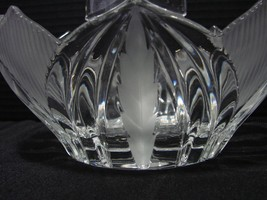 Beyer Lead Crystal Novelette Basket , Germany  - $12.99