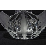 Beyer Lead Crystal Novelette Basket , Germany  - $12.99