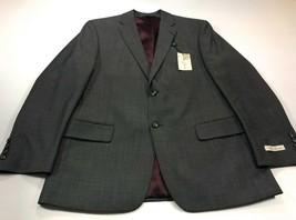 Palm Beach 1922 40S Grey Wool 2-Button Dual Vent Jacket Sport Coat 40 Sh... - $49.99