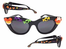 Disney Cat Eye Halloween Sunglasses with Mickey Mouse, Minnie Mouse, Can... - £19.00 GBP