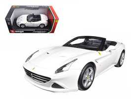 Ferrari California T (open top) White 1/18 Diecast Model Car by Bburago   - $65.79