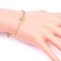 UE- Stylish Rose Tone Designer Twisted Bangle Bracelet With Trendy Knot Design - $15.99