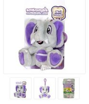 Scents Animals Plush Clips (Jelly Elephant) - $6.99