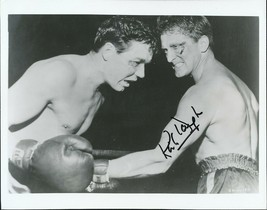 Kirk Douglas signed boxing photo. Spartacus. - $31.95
