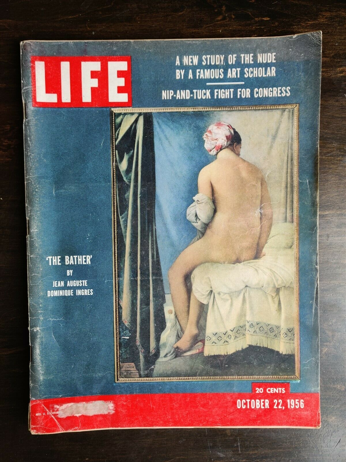 Primary image for Life Magazine October 22, 1956 - Nude Art - Schizophrenia- US Steel Industry OC
