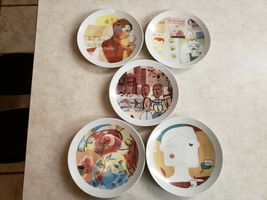 Starbucks 5 Plates North American Stores Leadership Conference 2005 In Box image 4