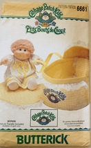 Butterick 6661 or 337 Cabbage Patch Kids Doll  ... - $9.99