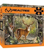 MasterPieces REALTREE Backcountry Buck 1000 Piece Jigsaw Puzzle by Dona ... - $10.71