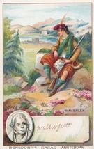 Walter Scott Printed Signed Bendorps Cocoa Drink Old Postcard Antique Tr... - $11.99