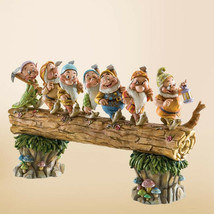 "8.25"" ""Homeward Bound"" Seven Dwarfs Figurine by Jim Shore Disney Traditions"