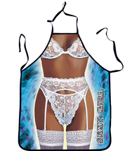 Sexy Girl designed sleeveless apron - $25.00