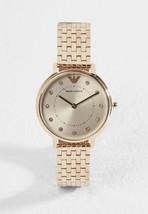 Emporio Armani AR11062 Women's Watch Rose Gold Watch - $97.38