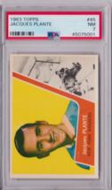 1963 Topps Jacques Plante #45 PSA 7 P651 - $68.62
