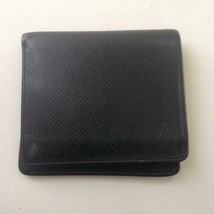 Authentic Louis Vuitton Green Taiga Leather Mens Wallet 4in x 4in (MI097... - $185.20