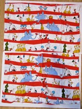 """Dr. Seuss characters pillowcases set of 2 red stripe Famous Books 18x28""""... - $17.81"""