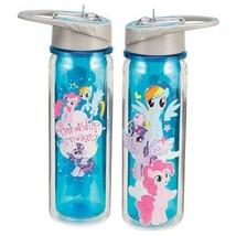 My Little Pony Friendship is Magic 18 oz. Double Wall Tritan Water Bottl... - $11.60