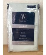 Wamsutta Pima Cotton 625 2 King Pillowcases Solid Mint - $24.74
