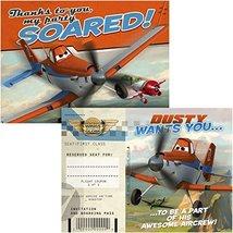 Disney Planes Invitation & Thank You (8) - $3.22