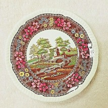"""Copeland Spode Delft Tower Pattern Bread and Butter Plates 6 3/8""""  - $16.34"""