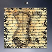 """SteamPunk ART """"MUSIC"""" HD print on canvas huge wall picture 24x24"""" - $24.74"""