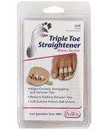PediFix Triple Toe Straightener, Left Foot - $9.55