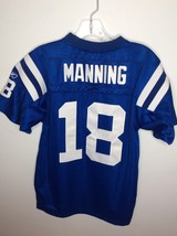Reebok NFL Peyton Manning 18 Indianapolis Colts Jersey Blue Youth Large ... - $14.84