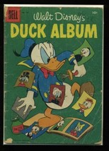 Four Color #726 FR 1956 Dell Walt Disney's Duck Album Comic Book - $1.63