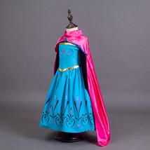 Frozen Princess Elsa Anna Girl Party  Dress Costumes Christmas Children ... - $26.99