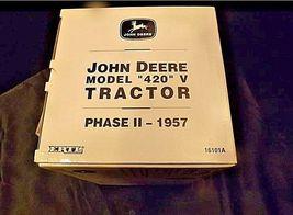 John Deere Model 420 V Tractor Phase II 1957AA18-JD0006 image 3