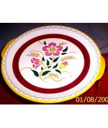Made in Japan Stangl Thistle like Handled Platter - $14.95