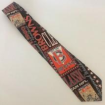 Cleveland Browns Men's Necktie R Caruso Ralph Marlin Style 100% Silk 1993 NFL - $28.04