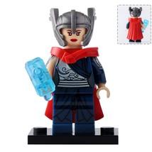 Lady Thor (Jane Foster) Marvel Comics Thor theme Lego Minifigures Toy Gift New - $4.95