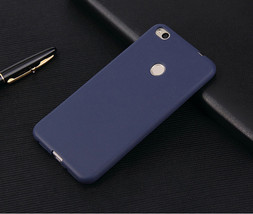 SRLEEKING for Xiaomi Redmi 4X Matte Candy Solid color Cover Silicone TPU... - $7.38