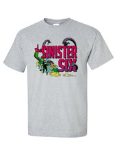 The Sinister Six t-shirt retro marvel comics silver age Kraven Electro Vulture image 2