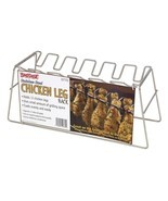 Grill or oven for 12 Leg Size Chicken Leg Stainless Steel Grilling Rack ... - $26.88 CAD