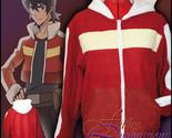 Voltron - Keith inspired Hoodie jacket cosplay costume coat handmade anime - $72.00