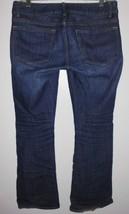 GAP 1969 Jeans Sz 2 Women Perfect Boot Lowrise Blue Stretch Dark Wash Denim - $29.69
