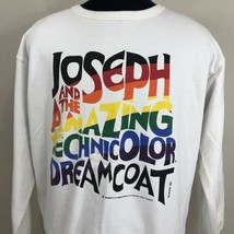 Vintage Joseph & The Amazing Technicolor Dreamcoat Sweatshirt Crew 90s M... - $29.99