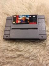 John Madden Football (Super Nintendo Entertainment System, 1991) Game - $4.00