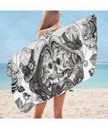 In Love Skulls Microfiber Beach Towel - $22.04+