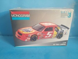 Monogram Tide Lumina # 5 Ricky Rudd Stock Car Model Kit #2440.NEW SEALED. - $14.01